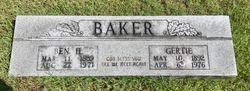 """Benjamin H. """"Ben"""" Baker"""