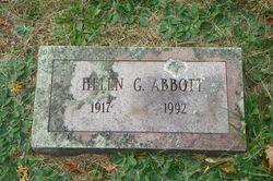Helen <I>Gorton</I> Abbott