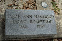Sarah Ann <I>Hammond</I> Robertson