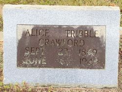 Alice Tribble Crawford