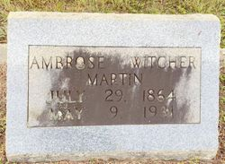 Ambrose Witcher Martin