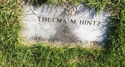 Thelma M. Hintz