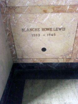 Blanche Howe <I>McRae</I> Lewis