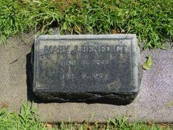 Mary Jane <I>Berry</I> Benedict
