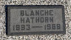 Blanche <I>Beaston</I> Hathorn
