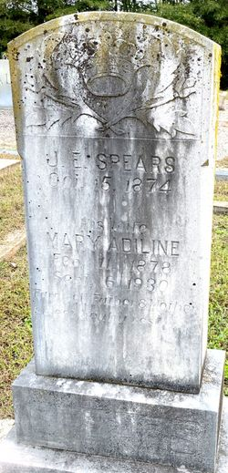 Mary Adiline <I>Bagwell</I> Spears