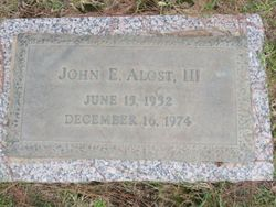 John Ernest Alost III