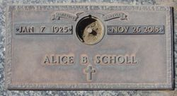 Alice Belle <I>Walters</I> Scholl