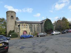 St Mary Coslany Churchyard