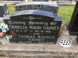 "Cornelia Maud ""Connie"" <I>Alloway</I> Gainey"
