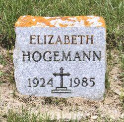 Elizabeth <I>Gerwing</I> Hogemann