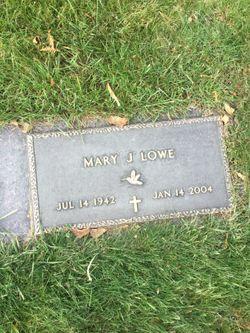 Mary Jane <I>Farrell</I> Lowe
