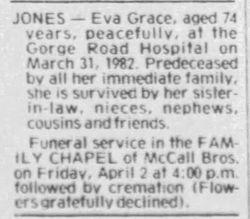 Eva Grace Jones