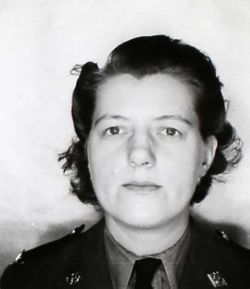 Sgt Florence May Fowler