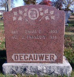 Emma Elise <I>Detollenaere</I> Decauwer