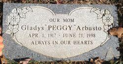 """Gladys """"Peggy"""" <I>Rylander</I> Arbusto"""