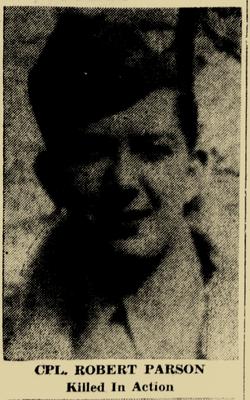 Corp Robert I Parson