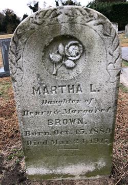 Martha L Brown