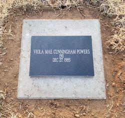 Viola Mae <I>Cunningham</I> Powers