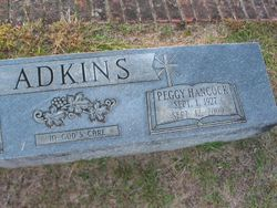 Peggy <I>Hancock</I> Adkins