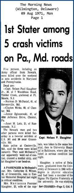 CPT Nelson Paul Slaughter, Jr