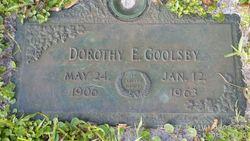Dorothy Evelyn <I>Knapp</I> Goolsby