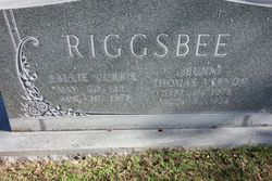 Sallie <I>Currie</I> Riggsbee