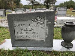 Dorcy <I>Tucker</I> Allen
