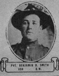 PVT Benjamin Bunte Smith