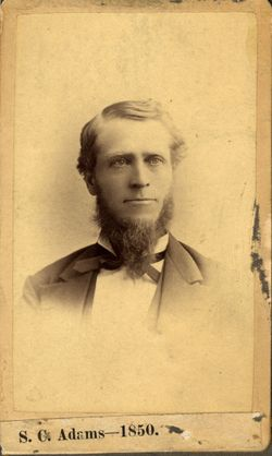 Sebastian Cabot Adams Jr.