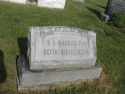 William E Whitecotton