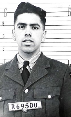 Flight Sergeant (Air Obs.) Hiam Murray Magder