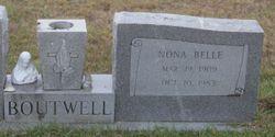 Nona Belle <I>Maxson</I> Boutwell