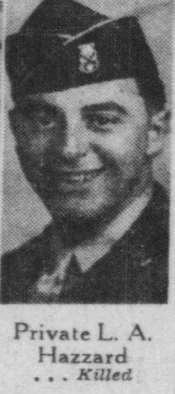 PFC Lawrence Arthur Hazzard