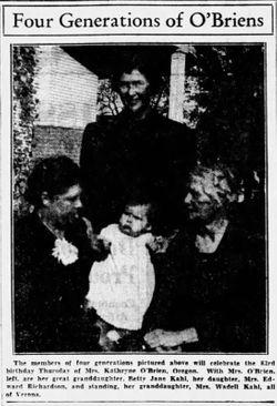 Agnes B. <I>O'Brien</I> Richardson