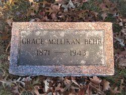 Grace <I>Millikan</I> Behr