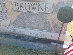 PFC Donald Carroll Browne