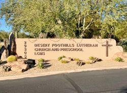 Desert Foothills Lutheran Church Memorial Garden