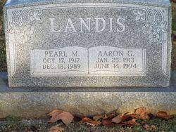 Pearl Miriam <I>Boehler</I> Landis