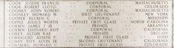 PFC Howard Charles Corsberg