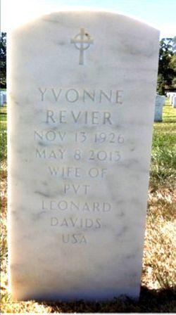 Yvonne <I>Revier</I> Davids