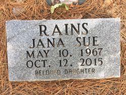 Jana Sue Rains