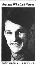 Corp Morris Henry Brown Jr.
