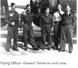 Flying Officer Howard Cedric Treherne
