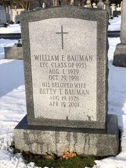 LTC William Frederick Bauman