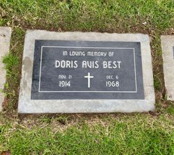 Doris Avis <I>Albro</I> Best