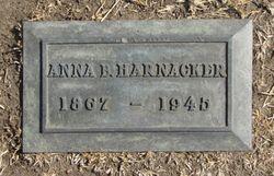 Anna Barbara <I>Rahn</I> Harnacker