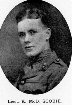 Lieutenant Keith Macdonald Scobie
