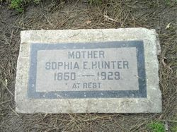 Sophia Ann <I>Ellis</I> Cundiff Hunter