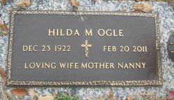 """Hildegard Martha """"Hilda"""" <I>Weberling</I> Ogle"""
